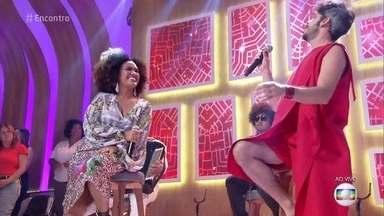 Mariene de Castro e Almério cantam 'Lamento Sertanejo' - Confira a performance da dupla