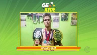 GE na Rede tem campeão de muay thai e futebol em Juiz de Fora - Thiago Souza conquista bicampeonato Brasileiro da arte marcial. No futebol amador, VAB representa Bairro Benfica em Juiz de Fora