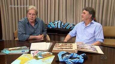 Há 34 anos, Grêmio vencia o Mundial pela primeira vez e torcedores estão ansiosos pelo bi - Renato Portaluppi, treinador tricolor, era jogador no Mundial de 1983, quando o Grêmio venceu o Hamburgo, da Alemanha.
