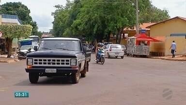 Trânsito em Tangará da Serra continua causando problemas - Trânsito em Tangará da Serra continua causando problemas