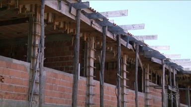 Primeira prefeitura é investigada na operação Quadro Negro - A operação investiga a construção de uma escola municipal de Ponta Grossa, que também foi abandonada pela Construtora Valor.