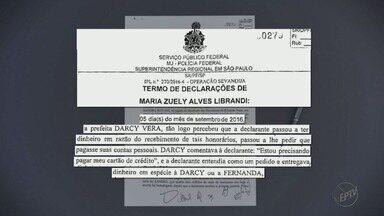 MP aponta contradição nos depoimentos de advogada acusada de pagar propina - Maria Zuely Librandi pode complicar a vida da ex-prefeita de Ribeirão Preto Dárcy Vera.