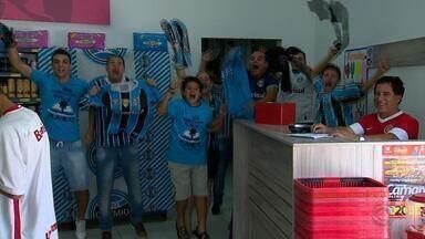Torcedores gremistas planejam como devem assistir a partida contra o Pachuca - Assista ao vídeo.