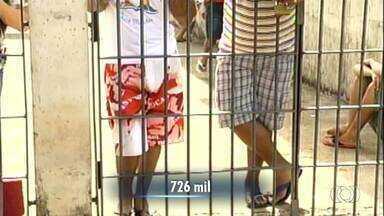 Levantamento mostra que 39% dos presos do Tocantins são jovens - Levantamento mostra que 39% dos presos do Tocantins são jovens
