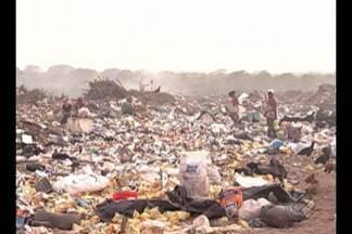 Mesmo desativado, antigo lixão do Aurá continua liberando grande quantidade de gás metano - Gás prejudica o meio ambiente e a saúde da população.
