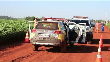 Policial é morto em confronto com contrabandistas de agrotóxico - Na fuga os contrabandistas ainda roubaram um carro com da prefeitura de Terra Roxa que levava crianças para escola.