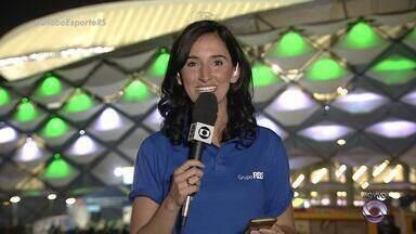 Globo Esporte RS - Bloco 3 - 12/12 - Assista ao vídeo.