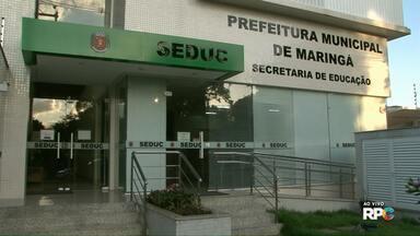 Secretaria de Educação conta votos das eleições para direção de escolas municipais - O resultado será divulgado no G1 Maringá