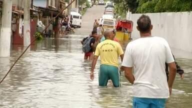 Nível de chuva 15 vezes maior do que o esperado causa estragos em Campos, no RJ - Custodópolis foi a área mais afetada pela chuva.