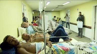 Investimentos obrigatórios em saúde não foram cumpridos em 11 estados - A pior situação é no Rio de Janeiro. A Secretaria se defende e diz que cortou mais de R$ 1 bilhão em gastos, mas tem recebido mais pacientes.