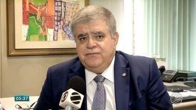 Carlos Marun toma posse como secretário de Governo da Presidência República - O deputado federal pelo PMDB de MS vai tomar posse nesta quinta-feira (14), em Brasília. O cargo tem status de ministro. O parlamentar fala sobre a nova função.