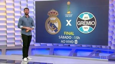Grêmio se prepara para final do Mundial de Clubes contra o Real Madrid - Grêmio se prepara para final do Mundial de Clubes contra o Real Madrid
