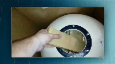Polícia encontra quase 200 kg maconha escondidos em filtros de piscina - Polícia Rodoviária Federal também apreendeu mais drogas na BR-277.
