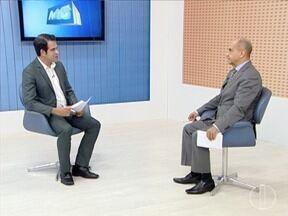 Deputado estadual Arlen Santiago participa de entrevista no MG Inter TV - Parlamentar fala sobre a situação da saúde no país.