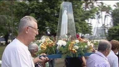 Monumento de Nossa Senhora de Fática no Porto completa 76 anos - A data foi comemorada com missa e procissão.