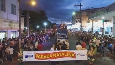 Parada Natalina reúne 7 mil pessoas em Itajubá (MG) - Parada Natalina reúne 7 mil pessoas em Itajubá (MG)