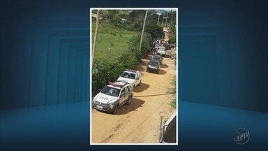 Três homens são mortos a tiros após discussão de casal em bairro de Itajubá (MG) - Três homens são mortos a tiros após discussão de casal em bairro de Itajubá (MG)