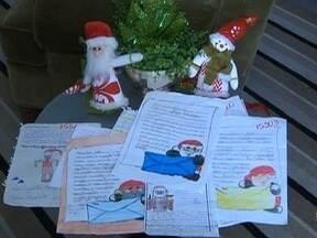Correios disponibilizam cartinhas de Natal para adoção - Interessados devem procurar uma agência até esta sexta-feira (15).