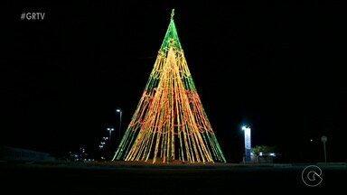 Decoração para o Natal é tímida na cidade de Petrolina - As luzes e enfeites são tradicionais no Natal