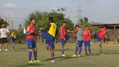 Serrano segue trabalhando firme de olho no Paraibano, mas time ainda está em formação - Clube tem como objetivo brigar pela classificação para a fase mata-mata.