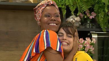 Emanuelle Araújo e Lilian Almeida participam do 'Conversa na Cozinha' - Emanuelle Araújo e Lilian Almeida participam do 'Conversa na Cozinha'