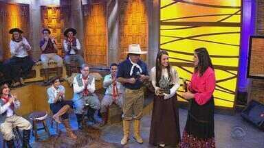 'Galpão Crioulo' anuncia vencedor do quadro 'Na Janela do Galpão' (bloco 4) - Assista ao vídeo.