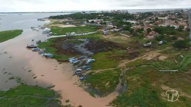 Moradores do Mapiri organizam Caminhada por preservação do Lago do bairro, em Santarém - O esgoto tem sido jogado no manancial trazendo mau cheiro e incômodo, além de prejudicar o meio ambiente.