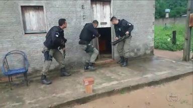 Polícia Civil faz operação contra o tráfico de drogas em Arapoema - Polícia Civil faz operação contra o tráfico de drogas em Arapoema