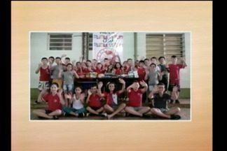 As doações de alimentos para a nossa campanha mobilizam alunos de Giruá, RS - Eles mandaram uma mensagem especial.
