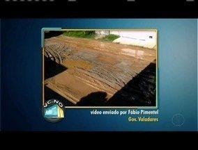 Vc no MGTV: Confira os videos enviados pelos telespectadores - O primeiro video foi enviado por um morador de Governador Valadares.