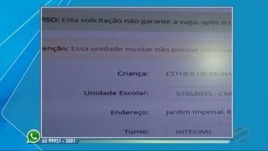 Telespectadores têm dúvidas na hora de fazer a matrícula em Cuiabá - Telespectadores têm dúvidas na hora de fazer a matrícula em Cuiabá