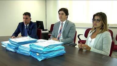 Promotores do Ministério Público falam sobre Operação Caça Fantasmas - Promotores do Ministério Público falam sobre Operação Caça Fantasmas.