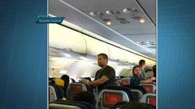 Atraso em voo da Avianca irrita passageiros - Os passageiros tiveram que trocar de aeronave.