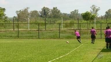 XV de Piracicaba treina a todo vapor para ter uma boa estreia na Copa de Futebol Júnior - Técnico Diego Favarim, quem tem comandado os treinos dos atletas sub 20.