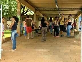 Estudantes participam de última fase de vestibular da Unesp - Exame teve duração de quatro horas e meia.