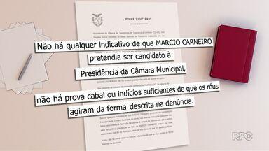 Réus são absolvidos em sentença da Operação Fantasma II - Vereador afastado e ex-presidente da câmara de Guarapuava foram absolvidos dos crimes de corrupção ativa e passiva.