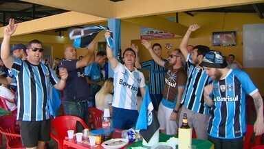 Em Manaus, gremistas acompanham pela tv final contra Real Madrid - Apesar da torcida, time perdeu por 1 a 0 e ficou com o vice-campeonato mundial de clubes.