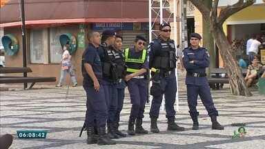 Mais de 100 guardas municipais de Fortaleza vão trabalhar armados, a partir de 2018 - Saiba mais em g1.com.br/ce