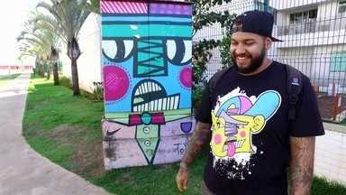 G1 no DFTV Primeira Edição: conheça o grafiteiro responsável por artes que embelezam o DF - G1 conversou com o grafiteiro Daniel Toyz. Confira a entrevista completa no g1.com.br.