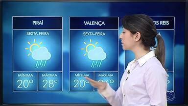 Tempo continua instável nesta sexta-feira no Sul do Rio - Confira a previsão do tempo nas cidades da região.