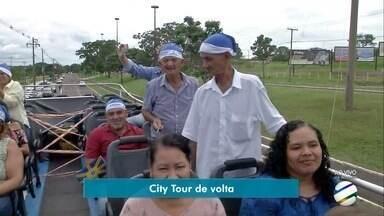 City Tour volta a fazer parte do turismo de Campo Grande neste fim de ano - De cima de um ônibus você pode atravessar a principal avenida da cidade.