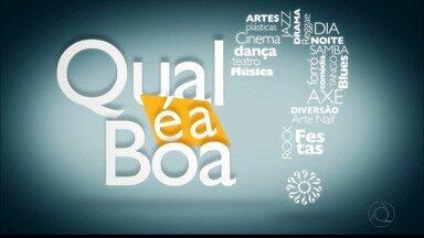 Diversão e arte este fim de semana em João Pessoa - Veja as opções no Qual é a Boa.