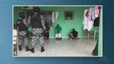 Continuam presos dois, dos três suspeitos que foram presos na operação Eclipsis em Vilhena - Vilhena.