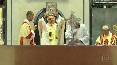 Dom Orani Tempesta celebra missa de Natal - Missa aconteceu na Catedral Metropolitana do Rio