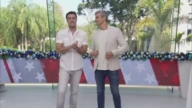 Video Show - Programa de segunda-feira, 25/12/2017, na íntegra - Árvore do 'Vídeo Show' passeou pelos Estúdios Globo e foi até o Retiro dos Artistas