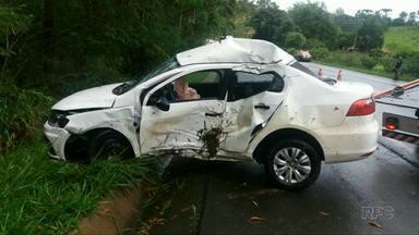 Prefeito de Japira morre em acidente - Ele foi uma das vítimas entre vários acidente no feriadão de Natal