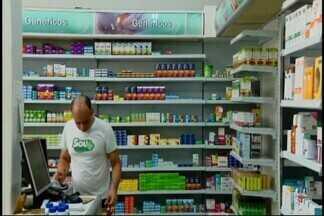 Busca por medicamentos genéricos aumenta nas farmácias do país - Segundo uma pesquisa da Anvisa, os genéricos representam 32,4% da quantidade de remédios comercializados no país. Em Divinópolis, o medicamente genérico também é bastante procurado.