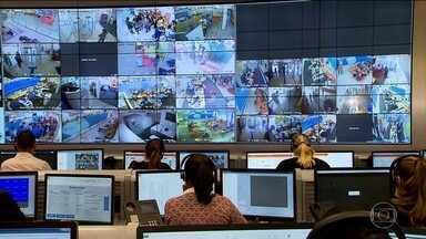 Bancos investem em tecnologia para reduzir os assaltos - O gasto com segurança chega a R$ 9 bilhões por ano, segundo a Federação Brasileira dos Bancos. O valor é maior do que o orçamento da Polícia Federal. Em 2011 foram mais de 400 roubos em todo o Brasil. Este ano, a projeção é de 272.