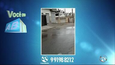 Problemas nos bairros Salgado, Agamenon Magalhães e Petrópolis são temas do 'Você no ABTV' - Denúncias são enviadas pela população para a redação da TV Asa Branca