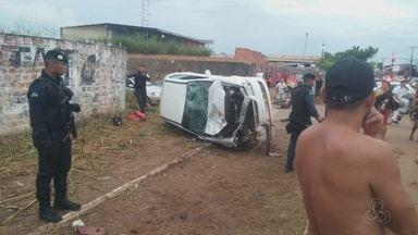Homem morre ao ser vítima de acidente de trânsito em Porto Velho - O caso aconteceu na noite deste domingo (25).